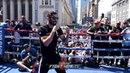 JORGE LINARES ' FULL MEDIA WORKOUT FOR VASYL LOMACHENKO NEW YORK
