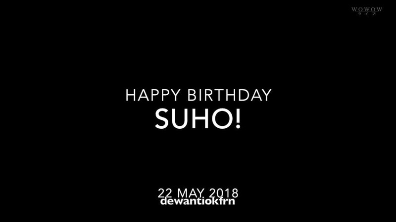 HAPPY BIRTHDAY OUR LEADERS! KIM JUNMYEON(SUHO) FROM EXO-L