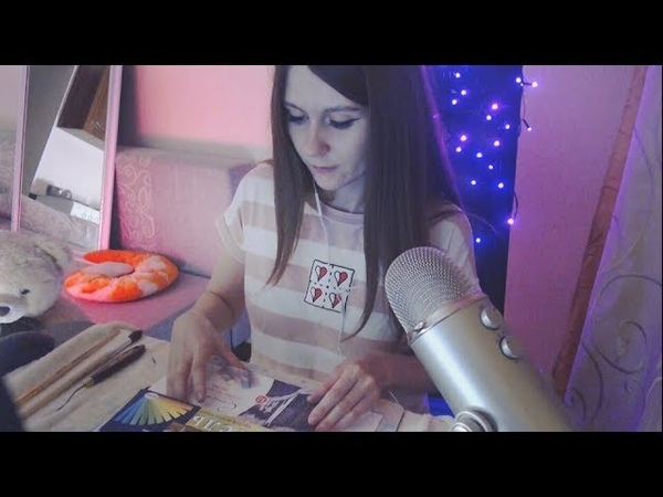 ASMR Drawing * Art therapy * Pastel * ASMR No talking