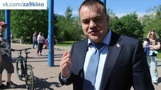 Сергей Караваев о борьбе с мусоросжигательным заводом в Новом Девяткино.