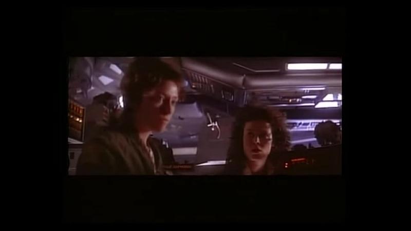 Alien. Escena eliminada: Secuencia en Airlock 1/2