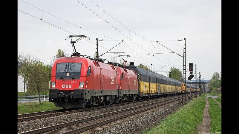 Güterzüge im Blockabstand - Maintal mit Hectorrail, Bayernbahn, TXL uvm.