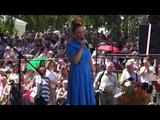 Марина Девятова выступила на Лермонтовском фестивале в Тарханах. 07.07.2018 г.
