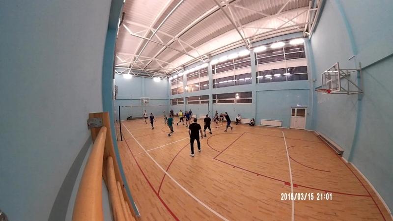 Тренировка волейбол школа №66 15.03.2016