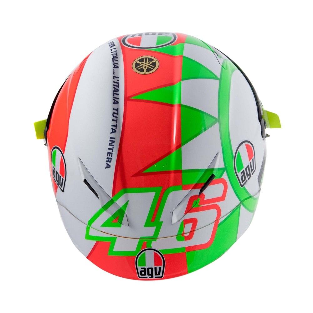 Новая расцветка мотошлема AGV Pista GP R Валентино Росси к Гран При Муджелло