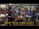 Р.Тёрк и К.Фосберг - стоят Nissan 370Z для дрифта Ч.2