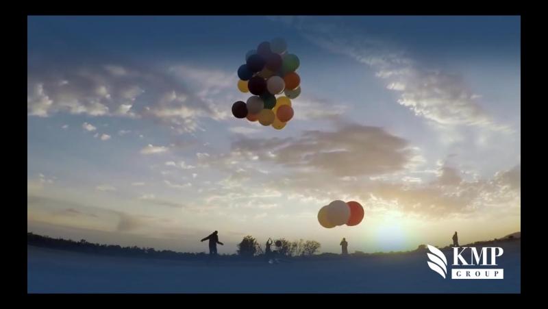 38-летний британец пролетел на воздушных шарах 25 км над Южной Африкой