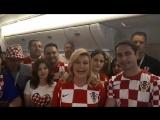 Президент Хорватии на русском языке поблагодарила Россию за гостеприимность