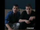 Did anyone else see that or was it just us @MaxCarver and @Charlie Carver star in InTheCloud streaming free on Crackle Febru