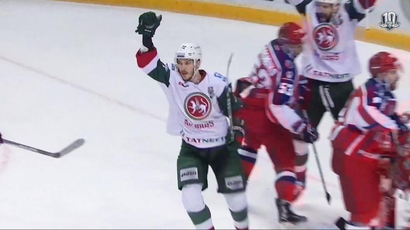 Галиев забивает 10-й гол в плей-офф