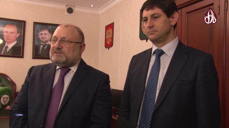 В министерстве ЧР по национальной политике встретили делегацию из братской Ингушетии