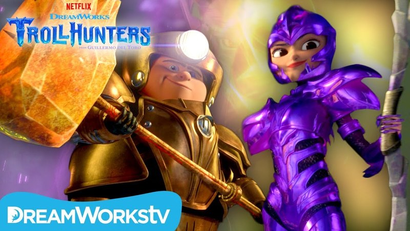 SEASON 3 TRAILER | TROLLHUNTERS/Трейлер третьего сезона мультсериала Охотники на троллей