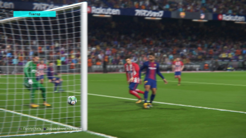 FC Barcelona vs ATLETICO DE MADRID. Гол H. Mastour 6'