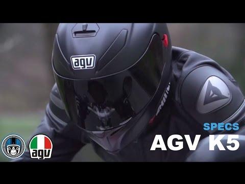 AGV K5 helmet specifications