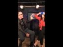 Хлоя и Кларк Грегг в прямом эфире на оф. странице «Агентов ЩИТа» в «Facebook» / 29 ноября, 2017
