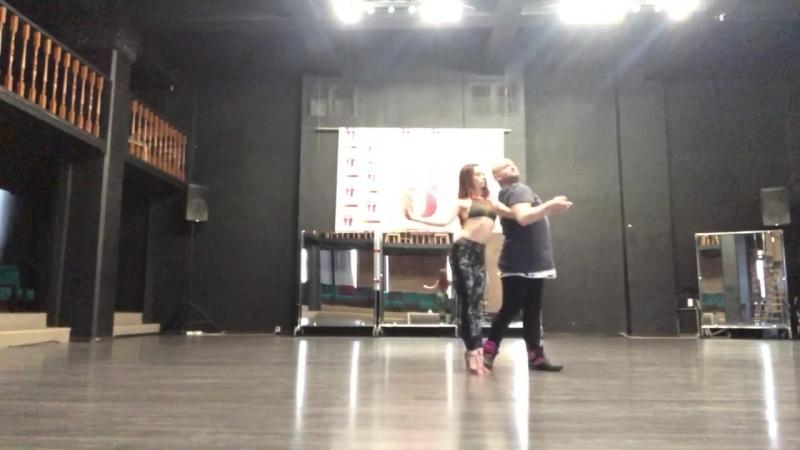 Alex Kostenko y Maria Luneva, bachata sensual, 23.03.2018