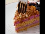 Постный торт.