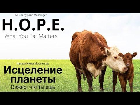 Исцеление планеты Важно что ты ешь фильм H O P E What You Eat Matters на русском смотреть онлайн без регистрации