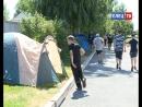 Знают, как поставить палатку, разобрать автомат и пройти полосу препятствий. Кадеты школы № 1 отдыхают в палаточном лагере