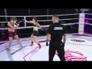 Aleksandra vs Izabela Kickboxing 2018 05 12 r WMMA