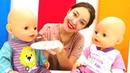 Видео для детей. Завтрак для Беби Бон в Веселой школе