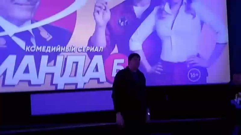 Ян Цапник и Михаил Тарабукин представляют в Петербурге новый комедийный сериал СТС