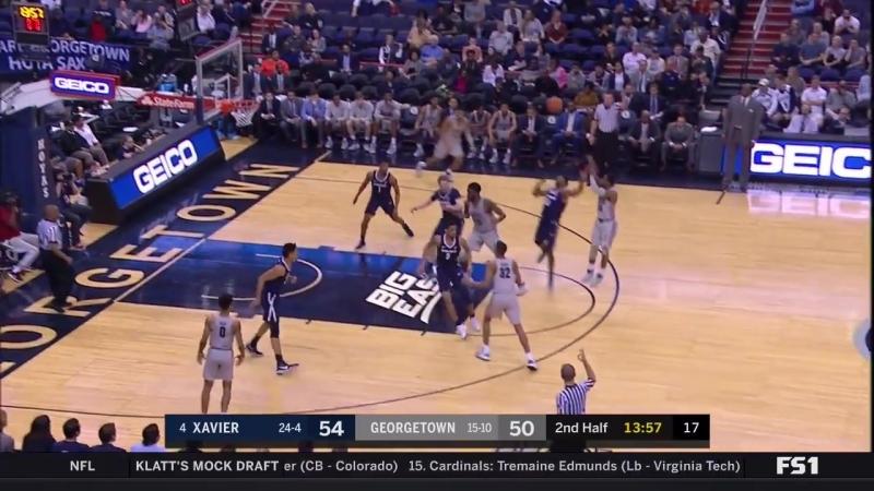 Xavier at Georgetown _NCAA Mens Basketball February 21, 2018