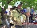 Сюжет ТВ FM В ГКУ РК Пожарная охрана Крыма провели смотр-конкурс на звание Лучший пожарный