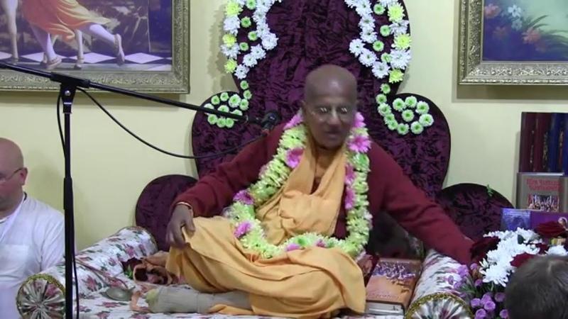 H.H. Gopal Krishna Goswami, BG 18.72-73, Yaroslavl, 19.09.2013