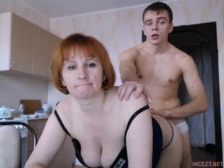 Real mom-son webcam 1 (1)