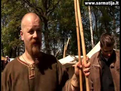 Senovės baltų kovos Dubingių piliavietėje