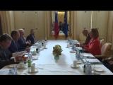 С Высоким представителем по иностранным делам и политике безопасности ЕС, Вена, 6 июля 2018 г.