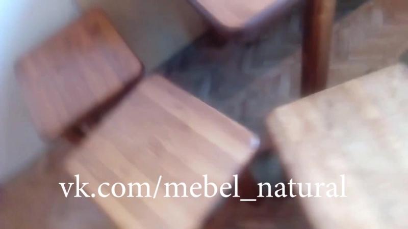 наша работа стол и стулья