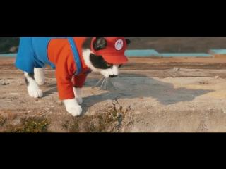SUPER MARIO CAT BROS (VHS Video)