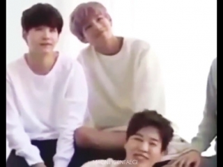 This is the most peaceful precious moment of Taehyung Yoongi - TAEGI