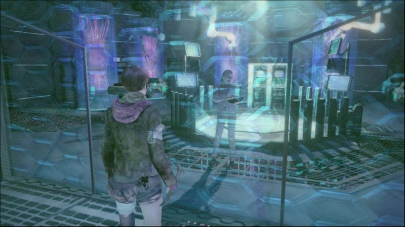 Residen Evil REVELATIONS 2 Claire Redfield and Moira Burton Escape the Monument