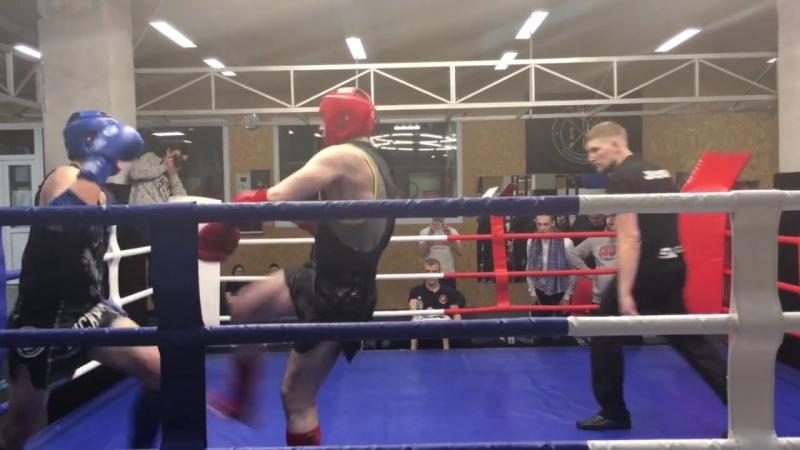 Мицкий Александр 1 часть тайский бокс 1.04.2018