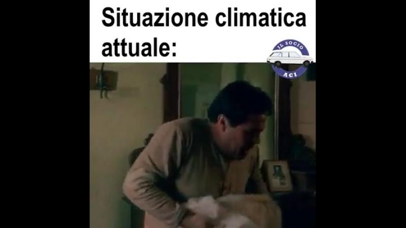 Situazione climatica attuale
