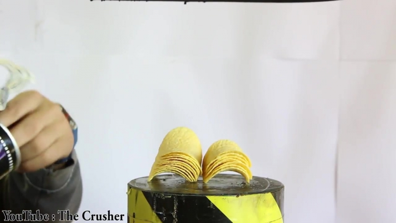 The Crusher Experiment Glowing 1000 Degree Hydraulic Press 100 ton VS 100 ORBEEZ Satisfying The Crusher