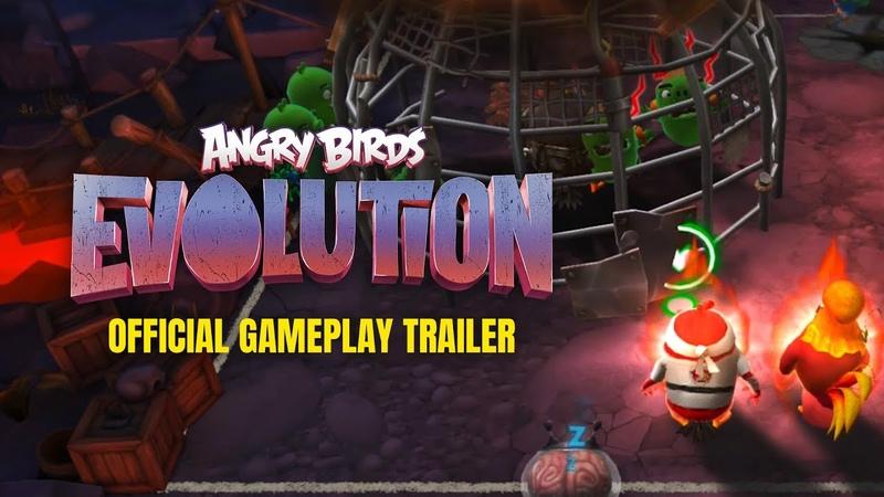 [Обновление] Angry Birds: Evolution - Геймплей | Трейлер