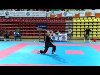 Aleksandra Belchaeva Weapons WAKO European Championships 2017