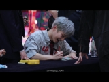 180422 EXO-CBX x Sehun @ `Blooming Days` Fansign in Goyang Focus