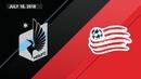 HIGHLIGHTS: Minnesota United FC vs. New England Revolution   July 18, 2018