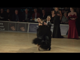 Dutch Open Amateur Ballroom Championship. Maciej Kadlubowski & Maja Kopacz. T