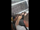 Lad tries to record a DJ at a festival on a brick phone that isnt even turned o