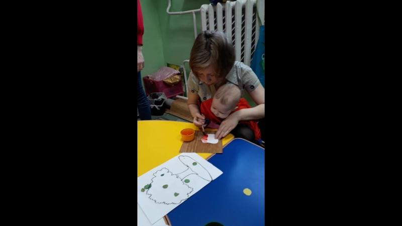 Раннее развитие детей с 9 месяцев в ДЦ Паритошка