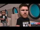 [v- Comedy Animations Golden Boy - Canelo Alvarez - Gennady Golovkin
