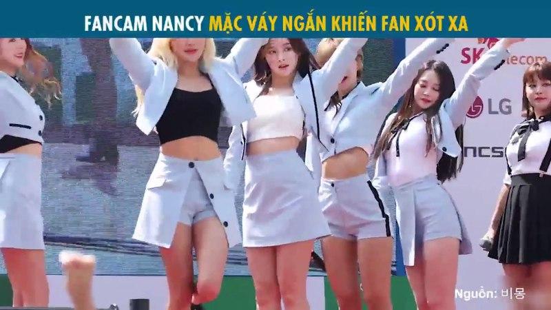 Fan xót xa cho Thánh nữ fancam Nancy dù đạt triệu view, hóa ra là vì điều này!😱😱😱[Tin Sao Hàn]