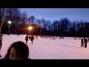 семейный досуг твотер катаемся на коньках