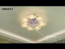 Гостиная лампа атмосфера хрустальная лампа современный минималистский светодиодный потолочный светильник круглый светильник спал
